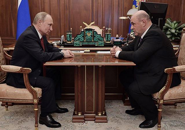 Putin kararnameyi imzaladı: Mişustin, Rusya'nın yeni başbakanı