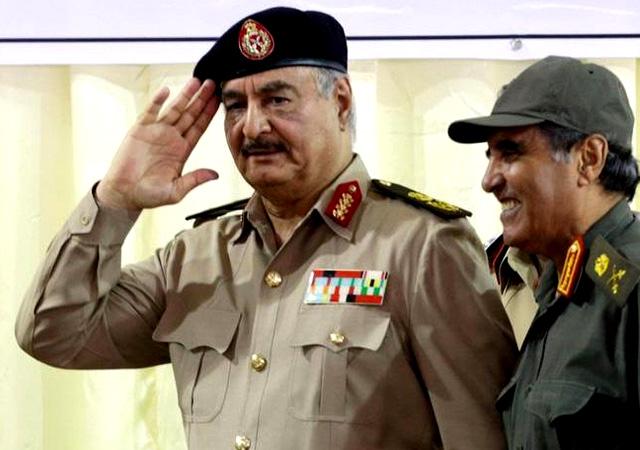 Hafter Libya'da ateşkese uymaya hazır!