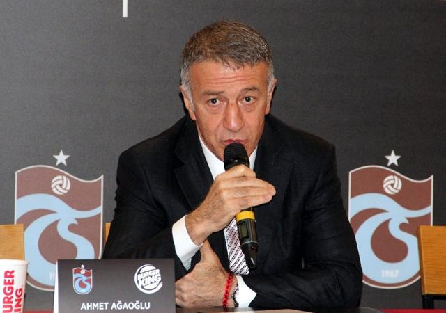 Trabzonspor Başkanı Ağaoğlu: Biz paraları böyle batırdık