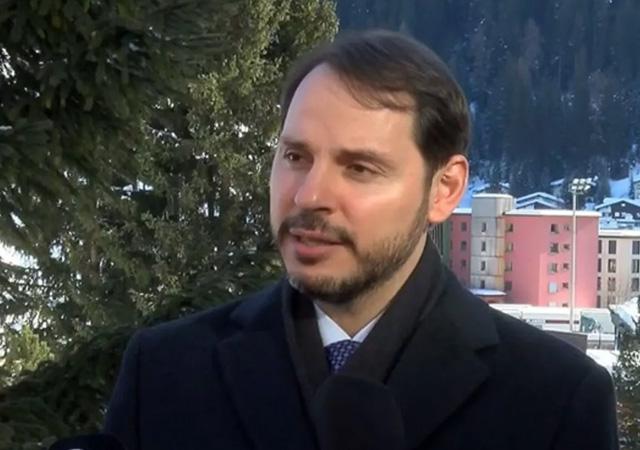 Berat Albayrak Davos'ta konuştu: Yüzde 5 hedefimiz gayet gerçekçi