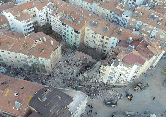 Elazığ depreminde can kaybı 41'e yükseldi