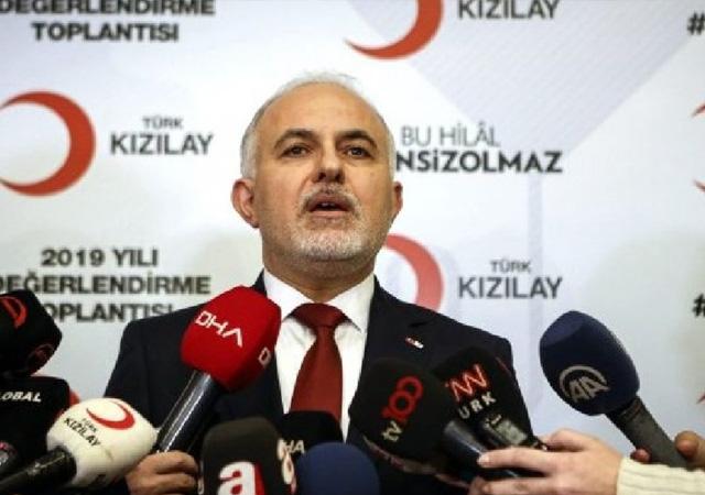Kızılay'dan 'Ensar'a 8 milyon dolar bağış' açıklaması