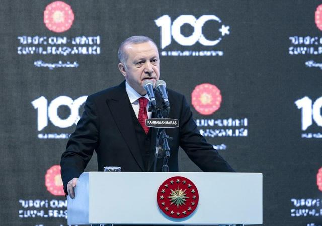 Erdoğan: Bayrağımıza uzanan elleri kırmaya hazır mıyız?