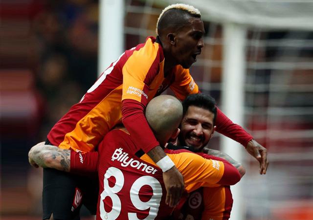 Galatasaray galibiyet serisini sürdürdü! 1-0