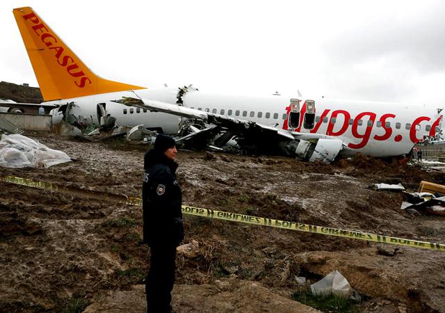 Sabiha Gökçen'deki kaza sonrası pilot tutuklandı
