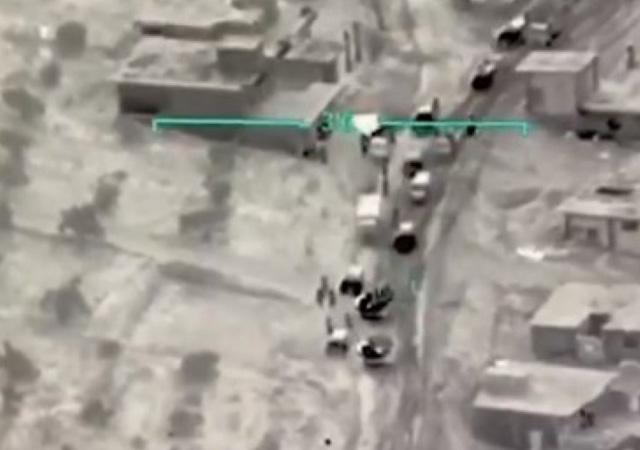 SİHA Esad'ın konvoyunu vurdu