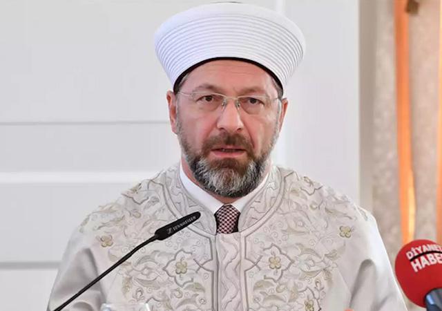 Diyanet İşleri Başkanı Erbaş: Cuma ve cemaatle namaz konusunda ısrarcı olmak dinen caiz değil