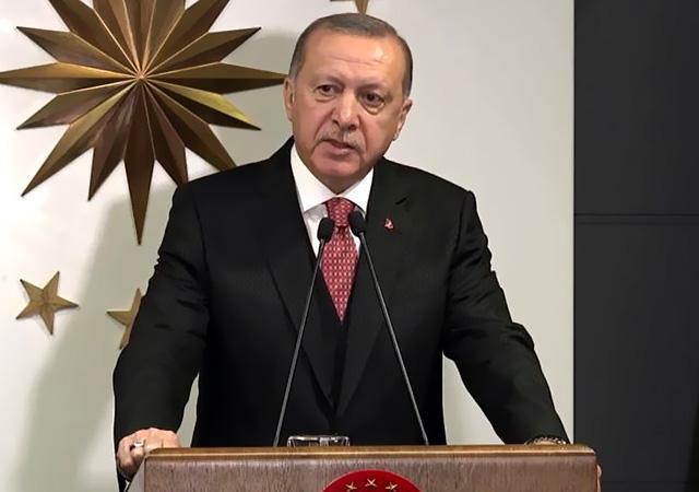 Virüse karşı Milli dayanışma kampanyası başlatıldı! Erdoğan 7 aylık maaşını bağışladı