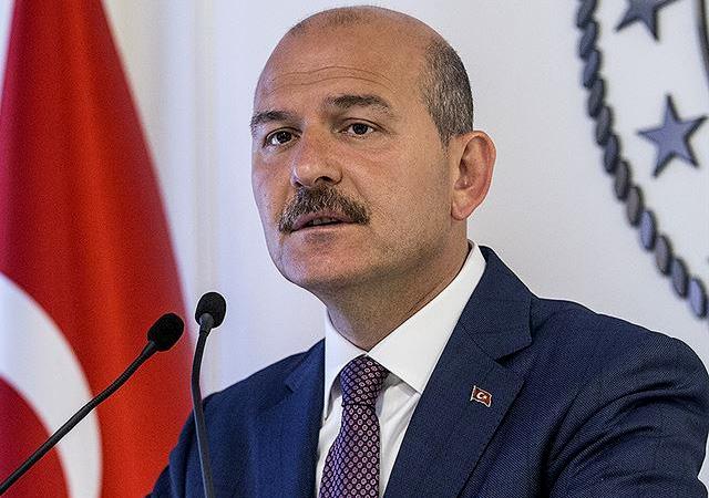 İçişleri Bakanı Soylu koronavirüs bulaşan personel sayısını açıkladı