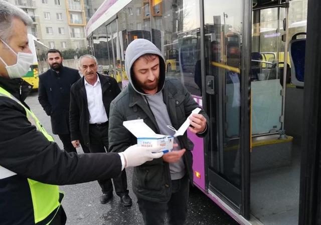 İstanbul'da toplu ulaşımda maskeli seyahat şartı