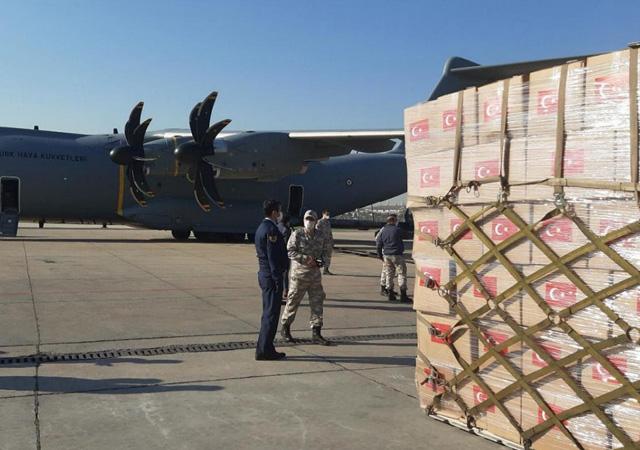 Çad'a tıbbi yardım malzemesi gönderdi