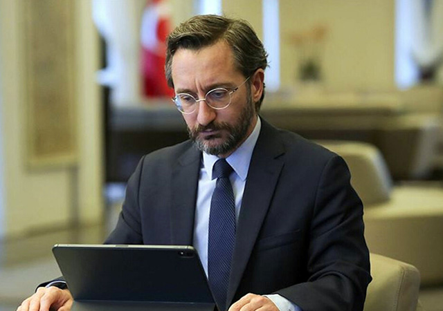 Fahrettin Altun: Temiz bir sosyal medya için çalışıyoruz