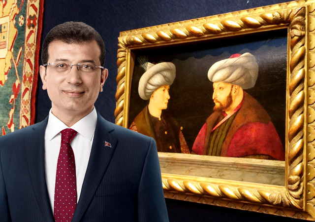 İBB'den Fatih'in portresine 6,5 milyon lira! 'Hani para yoktu' tepkisi