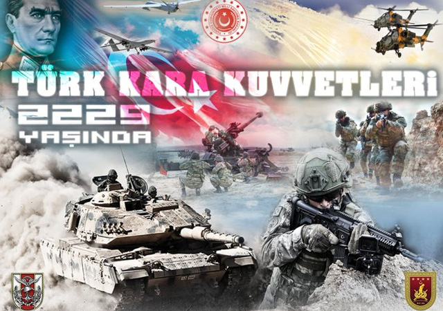 Türk Kara Kuvvetleri 2229 yaşında!