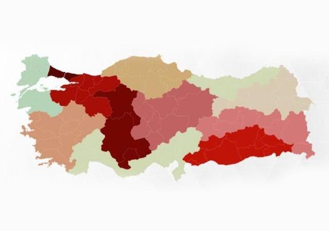Koronavirüs raporu yayımlandı! İşte Türkiye'deki bölge bölge vaka sayıları...