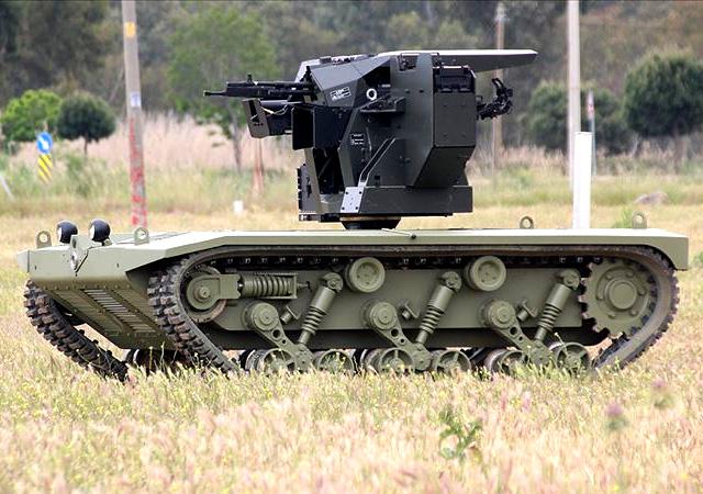 TSK güçleniyor! İşte Türkiye'nin ilk insansız mini tankı