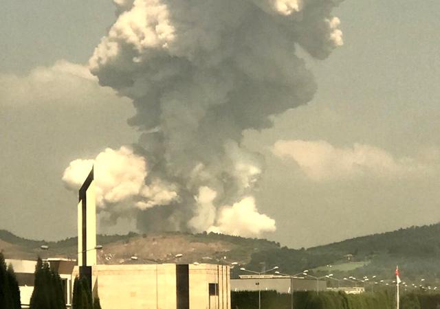 Sakarya'da havai fişek fabrikasında patlama: Çok sayıda yaralı var
