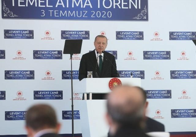Erdoğan: Ayasofya konusundaki ithamlar, egemenlik hakkımıza saldırı anlamına geliyor
