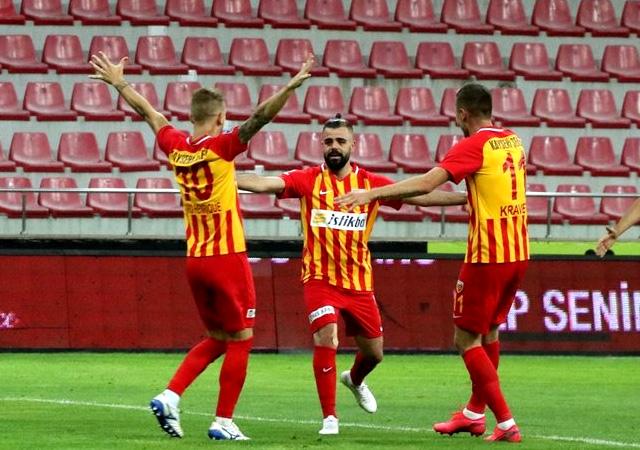 Kayseri'den Beşiktaş'a çelme! 3-1