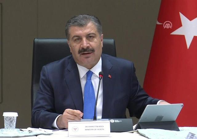 Sağlık Bakanı Fahrettin Koca: İstanbul zirveyi gördü inişe geçti