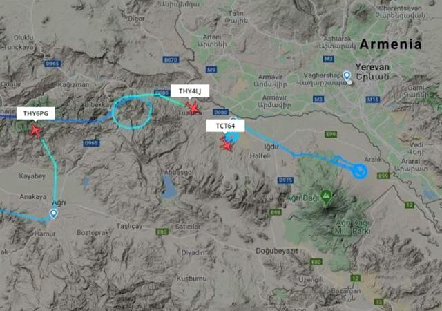 Türkiye'den Ermenistan'a gözdağı: SİHA'lar sınırı gözlüyor