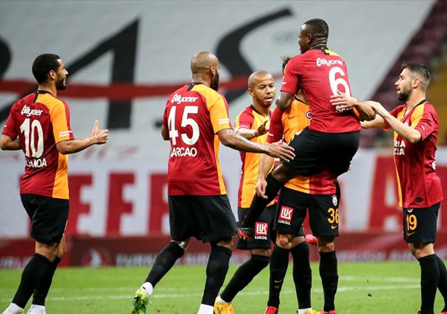 Galatasaray 8 maç sonra kazandı! 3-1