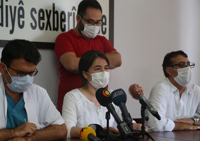 Diyarbakır Sağlık Platformu: Her gün ortalama 300'ün üzerinde pozitif vaka saptanıyor