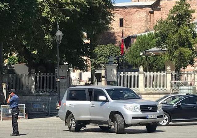 ABD Büyükelçisi Satterfield'dan Ayasofya'ya ziyaret
