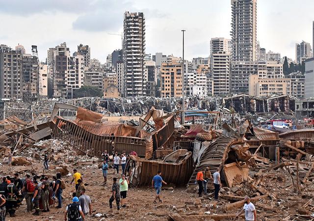 İsrail: Beyrut'taki patlamayla ilgimiz yok