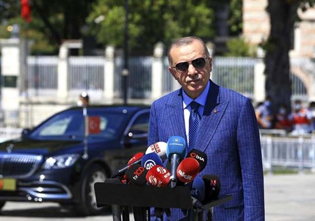 Erdoğan: Türkiye'de ekonomi tırmanışta, gözü olup görmeyenler yanlış yansıtıyor