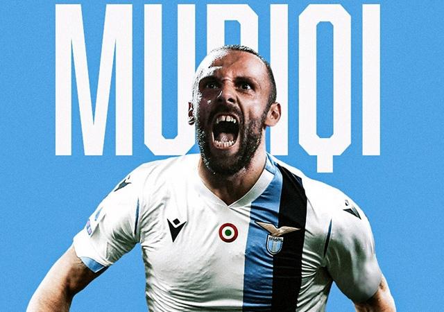 Vedat Muriç resmen Lazio'da