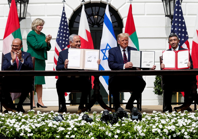 İsrail, BAE ve Bahreyn anlaştı! Trump: Seçimden sonra sırada İran var!