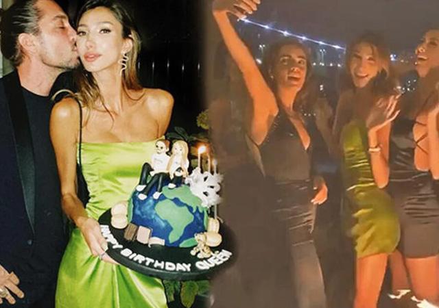 Boğaz'da parti veren Miss Turkey güzeli: Abartıldığı kadar vaka yok