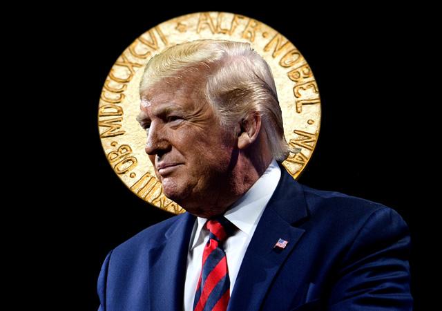 Trump: Nobel Barış Ödülü'nü almayı hak ettim