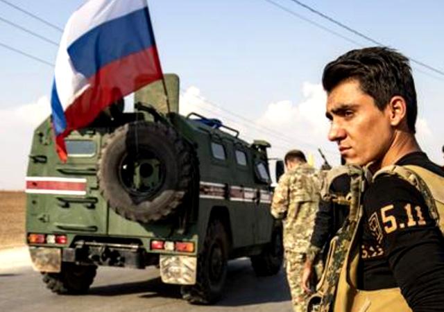 Rusya ile YPG'den ortak devriye