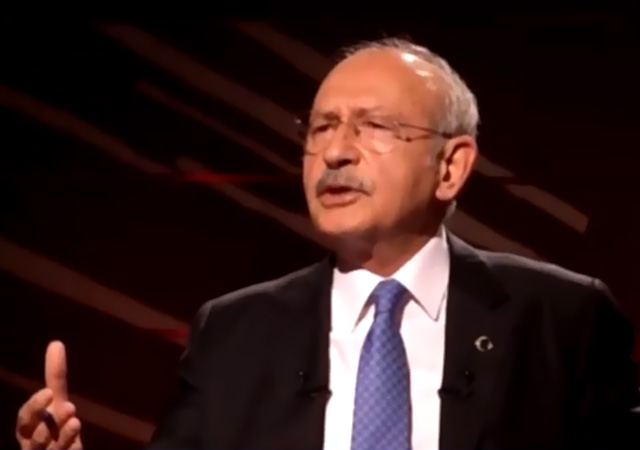 Kılıçdaroğlu Kaftancıoğlu'nu savundu!