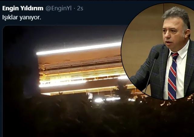 'Işıklar yanıyor!' Ankara'yı ayaklandıran darbe imasına tepki yağıyor