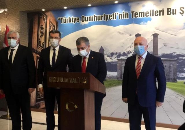 Sağlık Bakanı Koca: İstanbul ve Bursa başta vaka sayısında artış eğilimi var