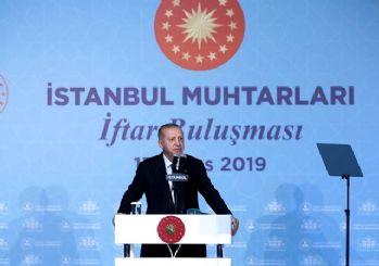 Erdoğan: Muhtarlık seçimleri ayrı olmalı