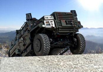 Türk zırhlı araçları Avrupa yolunda!