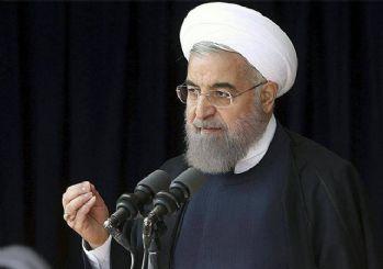 Ruhani: İran halkını hedef alan ABD'yi pişman edeceğiz