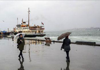 İstanbul'da yağış yarın sona erecek!