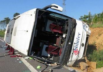 İstanbul'da kaza: 1 ölü, 15 yaralı