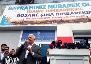 Binali Yıldırım Diyarbakır'da Kürtçe konuştu