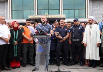 İBB çalışanlarından İmamoğlu protestosu
