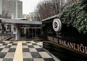 Türk Dışişleri: Umman Körfezi'ndeki saldırıyı kınıyoruz
