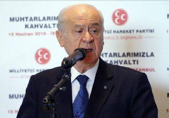 Bahçeli: Dünyanın gizli gündemi İstanbul seçimi