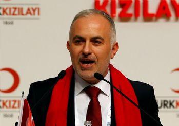 Kızılay Başkanı Binali Yıldırım'a destek verdi