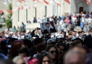 Erdoğan, Mursi'nin gıyabi cenaze namazında konuştu