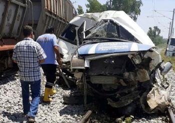 Mersin'deki korkunç tren kazasının görüntüleri ortaya çıktı!